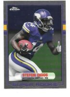 Stefon Diggs Rookie Card 2015 Topps Chrome '89 #89SD Minnesota Vikings RC