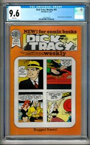 Dick Tracy Weekly #93 (1989) CGC 9.6  White Pages  1st in Census