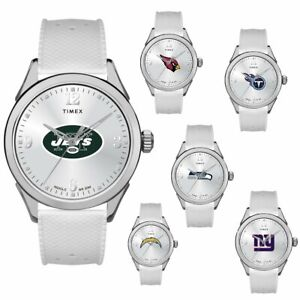 Officially Licensed NFL Women's Athena Sporty Watch By Timex 630120-J