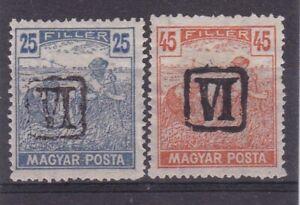 Hungary 1919 - Baranya overprint ☀  MNG stamps