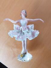 Wunderschöne Ballerina aus Porzellan Marke N mit Krone, Tänzerin,