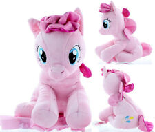 """My Little Pony Pinkie 14"""" Plush Backpack Doll Figure Stuffed Toy - Pink"""