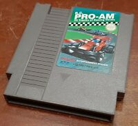 Nintendo NES R.C. Prom cart, cleaned & tested, authentic