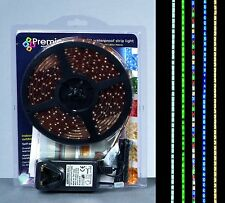 5m 300 Xmas Warm White LED Christmas Strip Lights Festive Indoor Outdoor Light