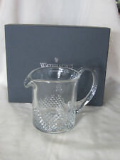 WATERFORD ALANA ESSENCE SHORT PITCHER #153946 BRAND NEW IN BOX CRYSTAL RARE F/SH