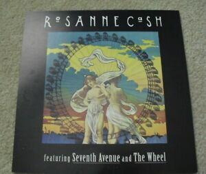 Original 1990s 12x12 Album Double Sided Promo Poster Roseanne Cash