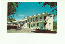 RIVERVIEW MOTEL, BROCKVILLE, ONTARIO, CANADA CHROME POSTCARD