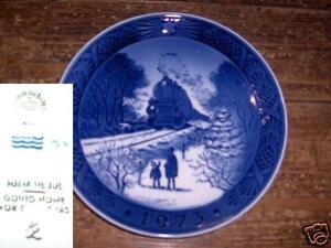 PIATTO ROYAL COPENHAGEN 1973 plate V4 ^