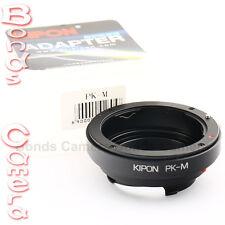 Kipon Pentax K PK mount lens to Leica M L/M Adapter M8 M9 M 240 E Ricoh GXR A12