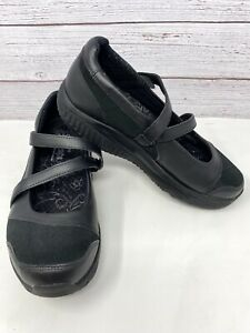 Skechers Shape Ups Hyperactive $120 Women's Mary Jane Shoes Size 7.5 Black EUC