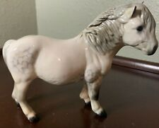 Royal Doulton Horse Pony Woolly Shetland Mare Grey White Gloss Model Da 47 Vtg