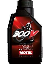 Huile MOTUL 300V 5W40 moto scooter quad Factory Line Off Road 1 litre