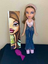 "MGA Bratz Flaunt it 10"" YASMIN DOLL, 2002, Original, EX"