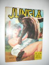 ELVIFRANCE - JUNGLA  n° 34 - dernier numéro -Virginité perdue - Stellio FENZO -