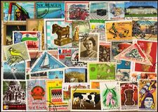 WORLD WIDE Large Thematic 50 Different Postage Stamps