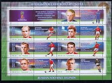 Russia 2015 Mi.#2259-65 WORLD CUP 2018 Legend of Russian Football KLB 7 stamps