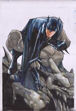 Humberto Ramos Batman Published Original 11 X 17 Cover Quality Art