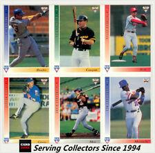 1994 Season Baseball Cards