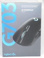 Logitech G703 LIGHTSPEED Wireless Gaming Mouse, RGB Lighting (Black) Brand New