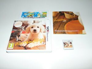 Nintendogs + Cats Golden Retriever & Friends Dogs Nintendo 3DS 2DS PAL Complete