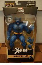 "Marvel Legends Beast.  X-Men Caliban BAF Series 6"" Hasbro New In Box"