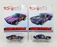 Hot Wheels 2021 Flying Customs '67 & '73 Pontiac Firebird NEW TARGET Lot of 2