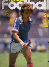 FRANCE FOOTBALL No 2102 du 22/07/1986 STOPYRA FRANCE