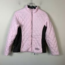 Black Diamond Women's Size 10 Light Puffer Jacket Pink Full Zip