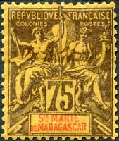 COLONIES SAINTE-MARIE DE MADAGASCAR N° 12 NEUF*