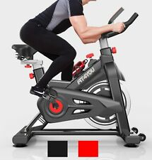 FIT4YOU Exercise Bike Indoor Cycling Home Gym Workout Cardio Fitness LCD EB07
