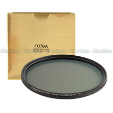 FOTGA 58mm Ultra Slim Multi-Coated 12 Layers Variable ND2-400 Fader MC-ND Filter