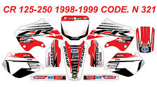 N 321 HONDA CR 125 98-99 CR 250 97-99 Autocollants Déco Graphics Stickers Kit