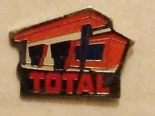 Total Petrol Station Pin Badge  Excellent Condition