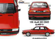 Neu 1:18 Audi 80 Quattro B2 Otto Models OT339 Vorbestellung