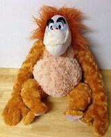 "Disney Store King Louie Jungle Book Stuffed Animal Plush Orangutan 15"" tall"