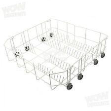 Beko Dishwasher Lower Basket Rack with Wheels. Genuine Part 1758970900