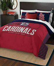 St. Louis Cardinals MLB Baseball Twin Size Bed Comforter Pillow Sham Set - 2-Pc
