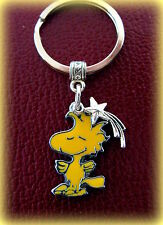 WOODSTOCK the Bird - SNOOPY the Dog KEYCHAIN Jewelry  Charlie Brown (Peanuts)