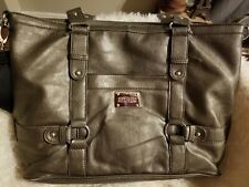 Kennith Cole Reaction Laptop Bag Briefcase Messenger Handles and Strap