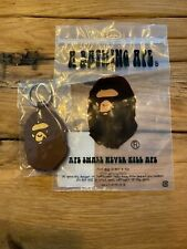 BAPE A BATHING APE KEYCHAIN  New authentic 1A30-182-006 Yellow Camo