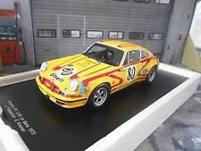 PORSCHE 911 2.5 S Le Mans 1972 Kremer #80 Fitzpatrick Bolanos Shell Spark 1:18