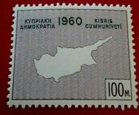 Cyprus:1960 Declaration of Independence 100M Rare & Collectible stamp.
