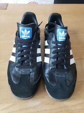Adidas Originals samba og leather mens trainers black/white UK Size