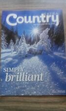 COUNTRY EXTRA MONTHLY MAGAZINE, SIMPLY BRILLIANT, JANUARY 2011