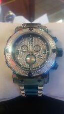 Mens Aqua Master 0.20ct Genuine Diamond Watch W#146 Collection