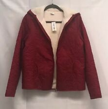 Womens Minnie Mouse Icon Fleece Lined Quilted Jacket Disney Exclusive Mickey M