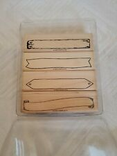 Stampin' Up! Bitty Banner Set Of 4