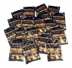 InstaFire Charcoal Briquette Fire Starter Pouches for Grills, Smokers, More - Ch
