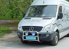 SHIELD BUFFALO MERCEDES SPRINTER 06-13,COUNTERPART STAINLESS STEEL DIA 60mn