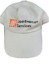 Home Depot Contractor Services Hat Beige Light Brown